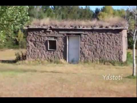 Sod House On The Plains Of Eustis Nebraska