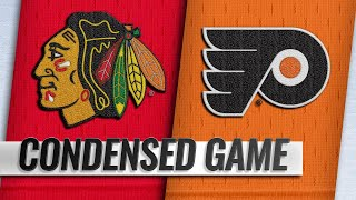 11/10/18 Condensed Game: Blackhawks @ Flyers