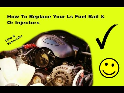 How to change you Ls truck fuel rail & or injectors injector 5.3 4.8 6.0