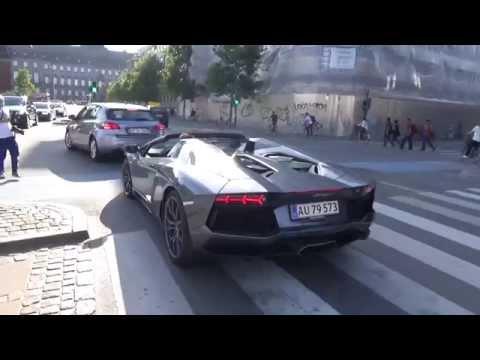 Summer in Copenhagen Vlog - Aventador, GT4, Huracan, AMG GTS, and much more