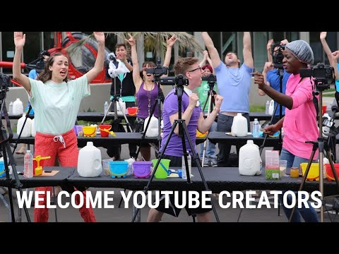 Welcome YouTube Creators
