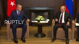 Russia: Putin greets Erdogan hailing 'relations completely restored' thumbnail