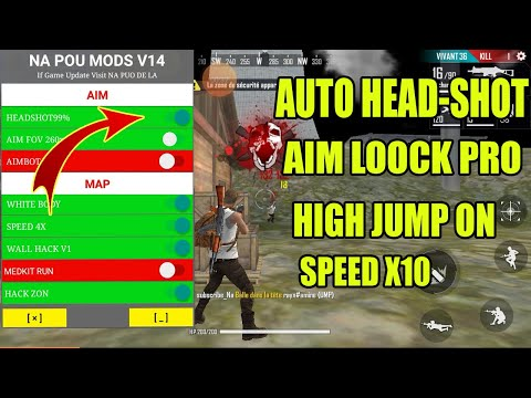 Mod Menu Free Fire Vip 14 Pro Auto Headshot, Ghosthack, Speed 4x,Anti Banned 100%