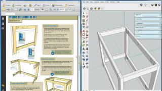 Kreg Workbench, Sketchup Video 2, Pocket Holes