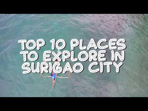 Top 10 Places to explore in Surigao City [HD]