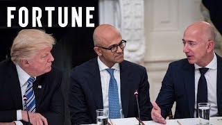 Donald Trump vs. Jeff Bezos I Fortune