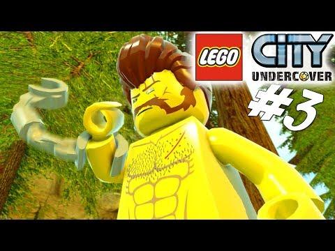FINDER REX FURY! - LEGO City Undercover Dansk Ep 3 [PS4 Pro]