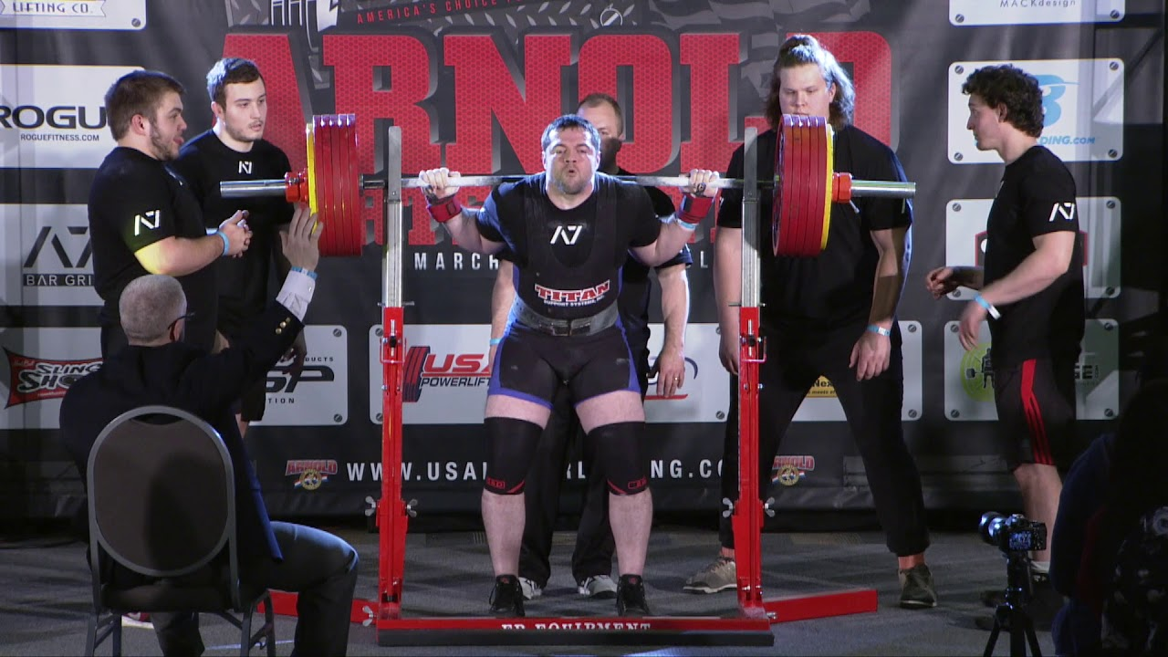 USA Powerlifting: Arnold Sports Festival USA