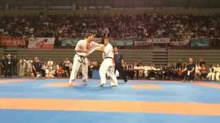 入来建武(日本)vs ブライアン・ヤコブセン(デンマーク) The officia...
