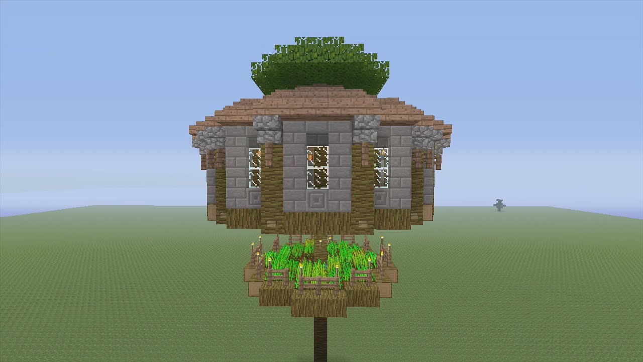 How To Build Amazing Houses In Minecraft Pe