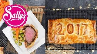 Beef Wellington / Rinderfilet mit Champignon-Farce im Teigmantel