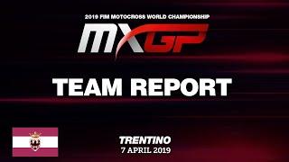 Team Report - Team Gebben Van Venrooy Kawasaki Racing - MXGP of Trentino 2019 #Motocross