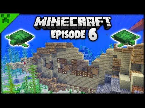 NEW Minecraft Shipwrecks & Treasure!   Python's World (Minecraft Survival Let's Play)   Episode 6
