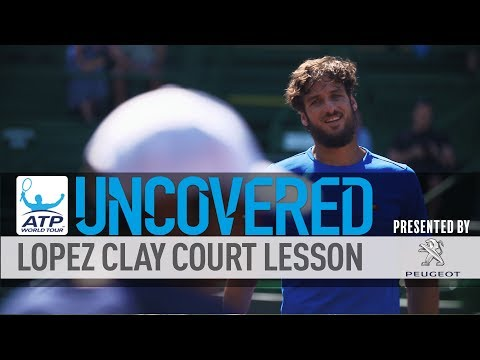 How To Train On Clay With Feliciano Lopez