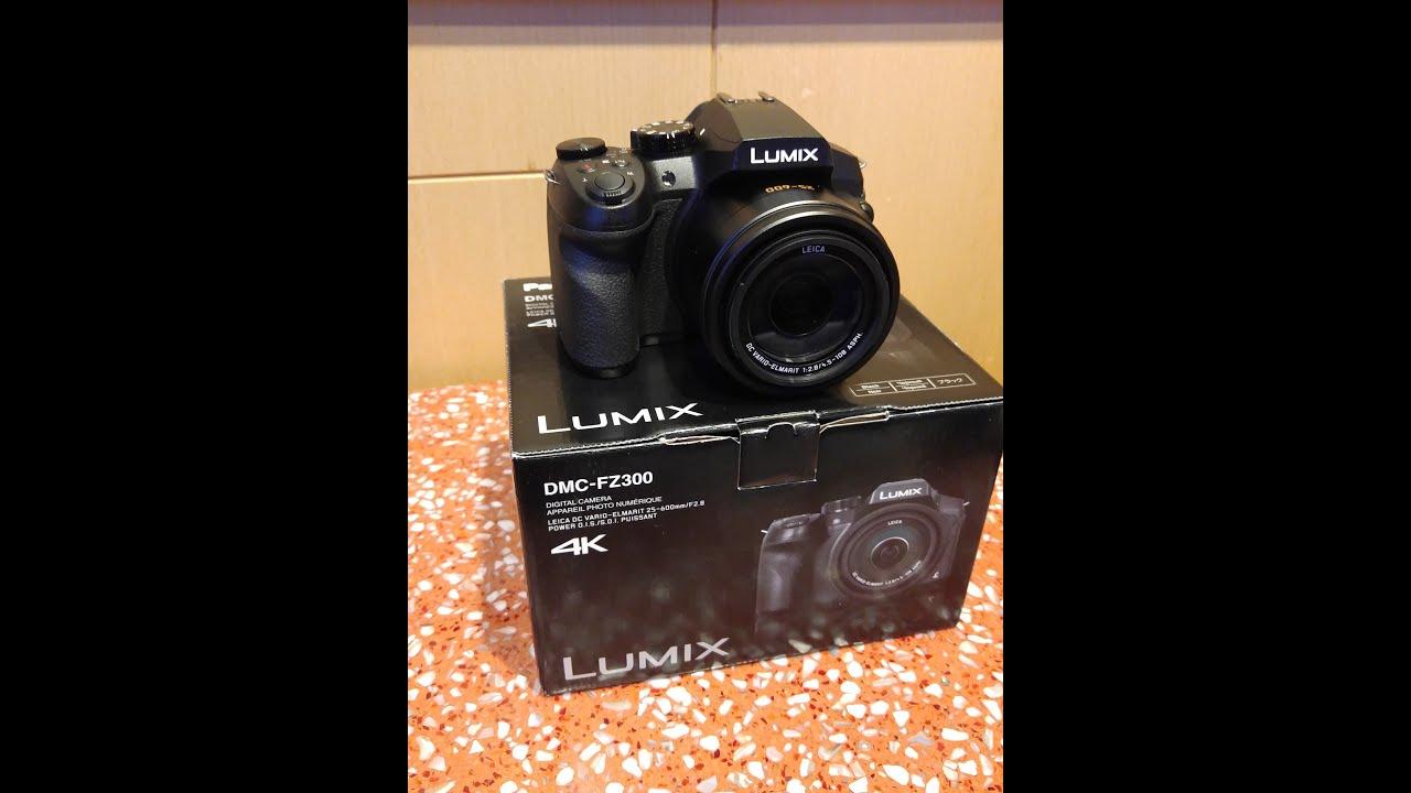 Best Camera For YouTube: Panasonic LUMIX DMC FZ-300