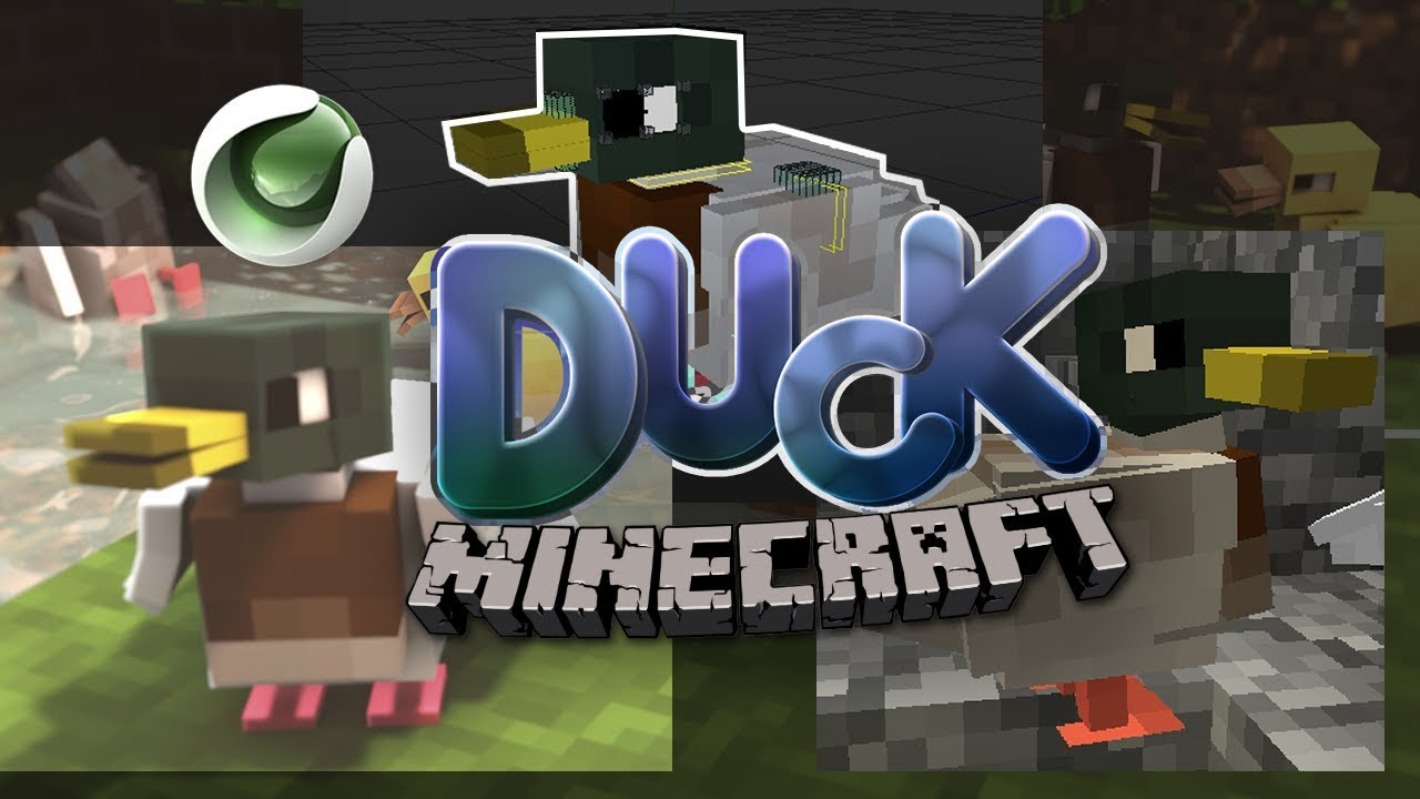 Duck Rig Free Minecraft Cinema4d Speedart Wallpaper