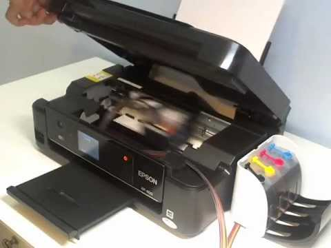 Ciss Epson Xp 400 Xp 200 Xp 300 Installation Youtube