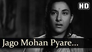 Jaago Mohan Pyare - Raj Kapoor - Nargis - Jaagte Raho - Bollywood Classic Songs - Lata Mangeshkar