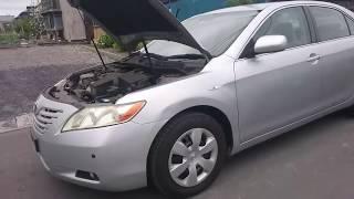 Видео-тест автомобиля Toyota Camry (Acv40-3001342, 2AZ-FE 2006г)