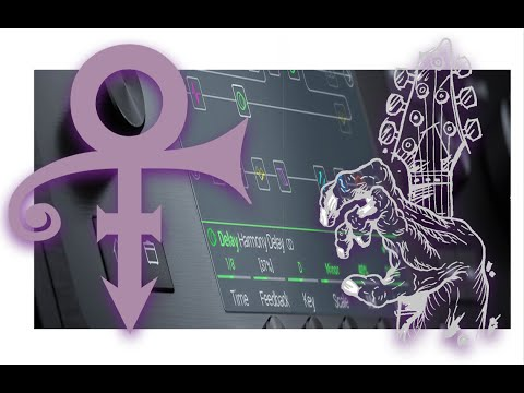 Prince's pedal chain and 'Purple Rain' tone in Line 6 Helix