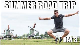 Road Trip 2018 // DAY 3 // Tour de Netherlands // TRAVEL VLOG #7