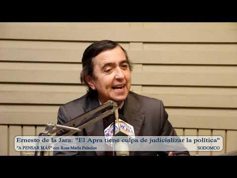 Ernesto de la Jara: 'El Apra tiene culpa de judicializar la política'