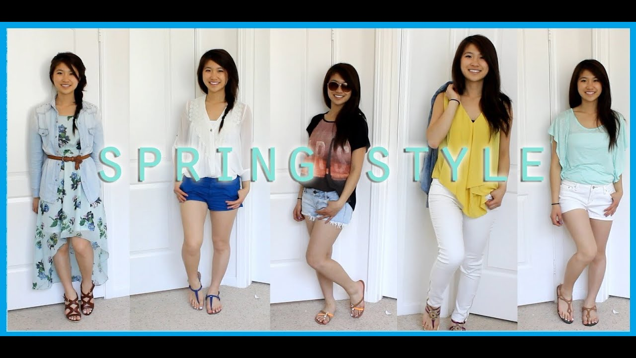 44f92c9b7bf Style  Spring Break Outfit Ideas - YouTube