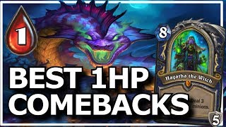Hearthstone - Best of 1HP Comebacks
