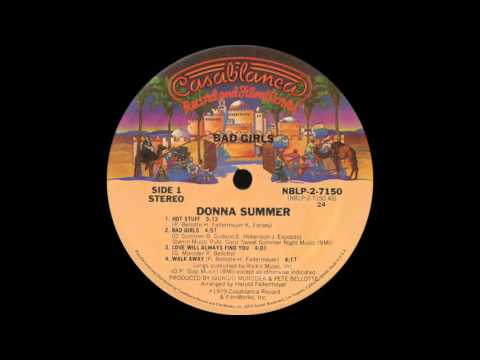 Donna Summer - Bad Girls (Casablanca Records 1979)