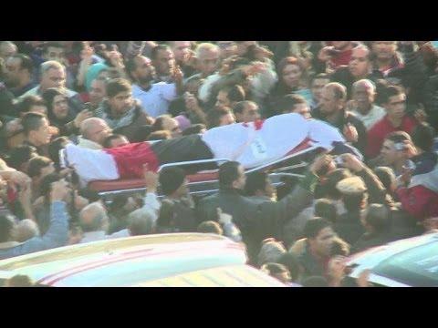 Egypte: funérailles des victimes de l'attentat de Mansoura