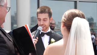 Sports Themed Wedding Vows