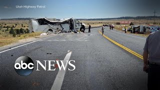 No explanation for Utah tour bus crash that killed 4, injured 17