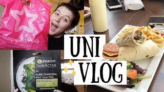 UNI VLOG | Superdrug Haul, Tidying & Chill Sunday Nights 👼💛