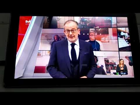 Mensagem Emocionante Do José Alberto De Carvalho No Final Do Jornal De 29 De Março Na Tvi
