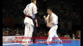 3rd World Cup 2005 - Osaka, Japan - semi final - D. Popov vs. Kou Tanigawa  JAPAN