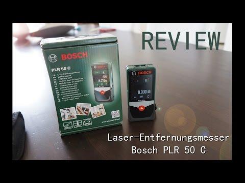 Review: bosch plr measure & go app mit laser entfernungsmesser plr 50 c