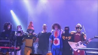 Michel and I were lucky enough to go see twrp,ninjasexparty,and sta...