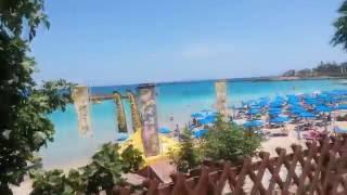 Кипр, Протарас, пляж Фиг три, Cyprus, Protaras, Fig Tree Bay,(красивый вид на самый красивый пляж в Протарасе на Кипре Fig Tree Bay., 2016-06-28T16:18:02.000Z)