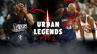 NBA Urban Legends That Will CREEP You Out! ...*PART 2*