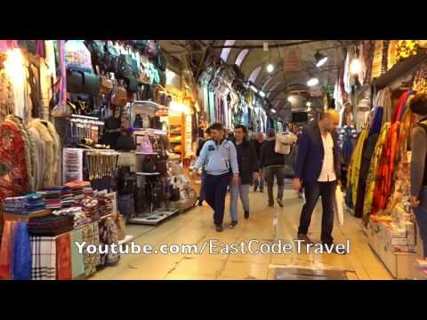 the great grand bazaar of Istanbul