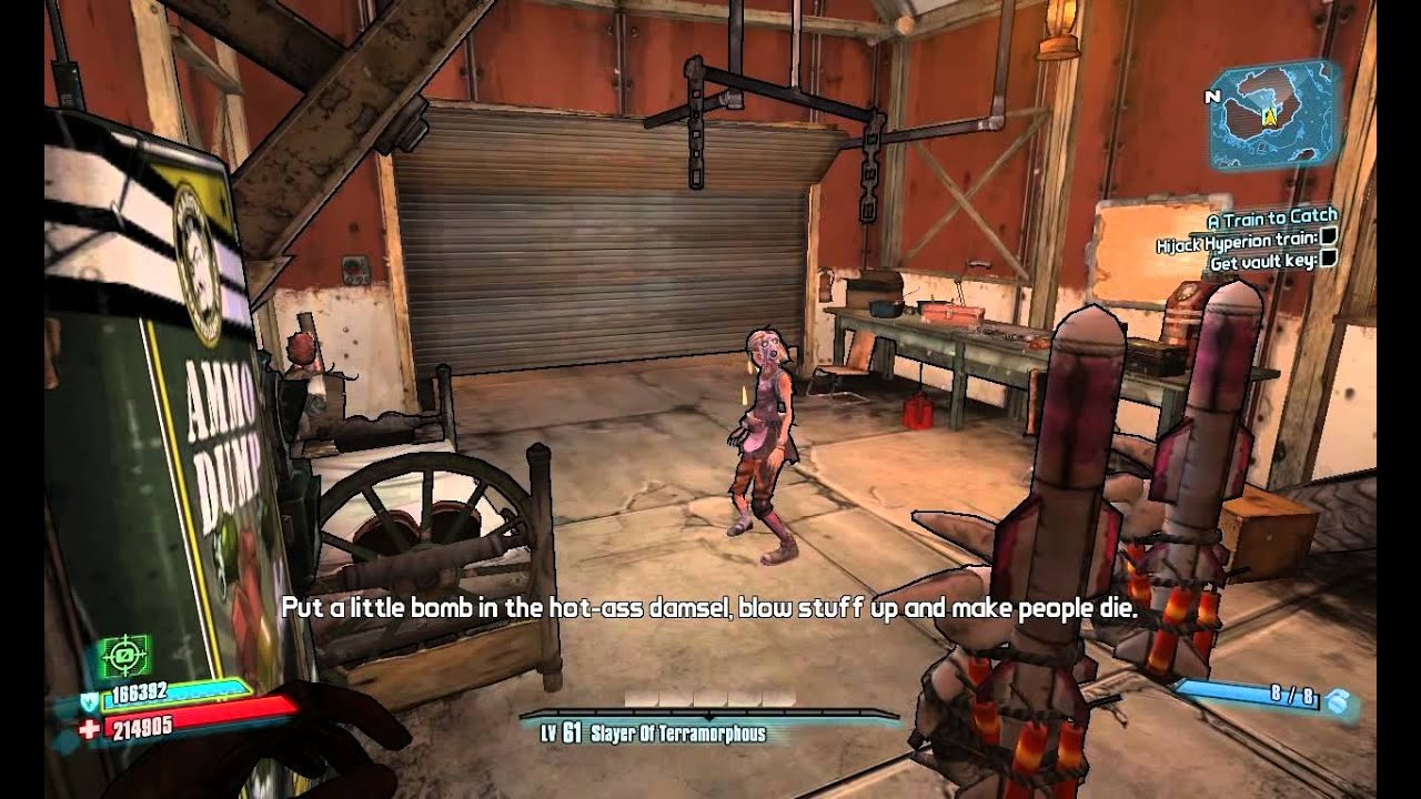 borderlands 2 how to get behind marcus
