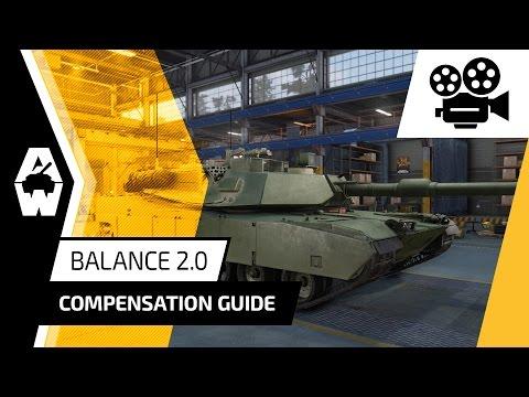 Armored Warfare - Balance 2.0 Compensation Guide