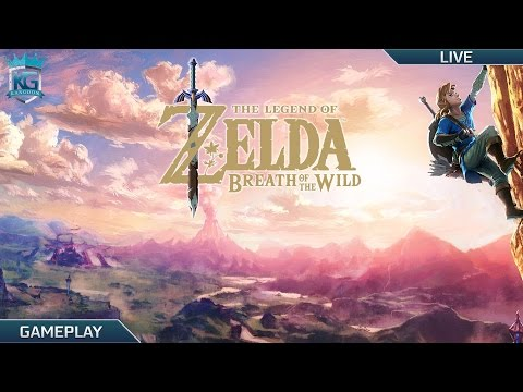 The Legend of Zelda: Breath of the Wild LIVE! Part 1! | Shrines, Dungeons and Bosses! | 1080p!