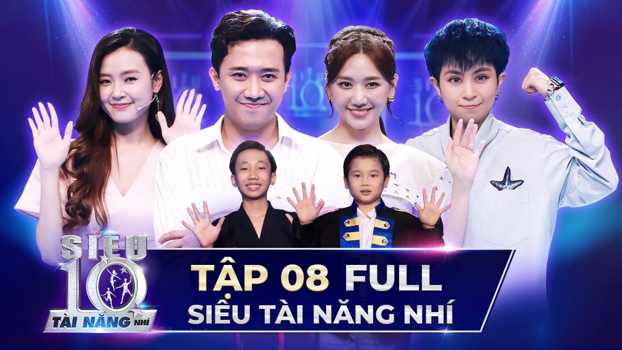 SIÊU TÀI NĂNG NHÍ TẬP 8 FULL   Trấn Thành, Hari Won, Midu LÀM ẢO THUẬT trên sân khấu STNN Tập 8
