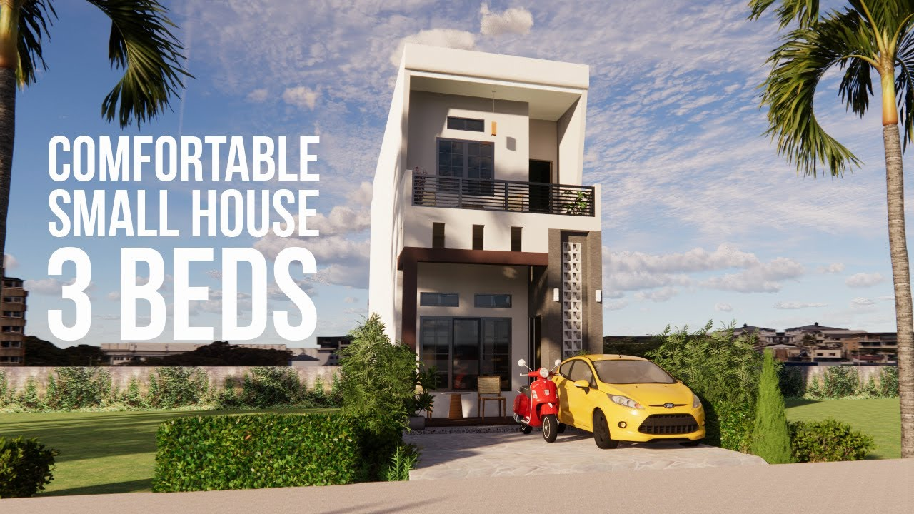 Download COMFORTABLE SMALL HOUSE 4x13 WITH 3 BEDS