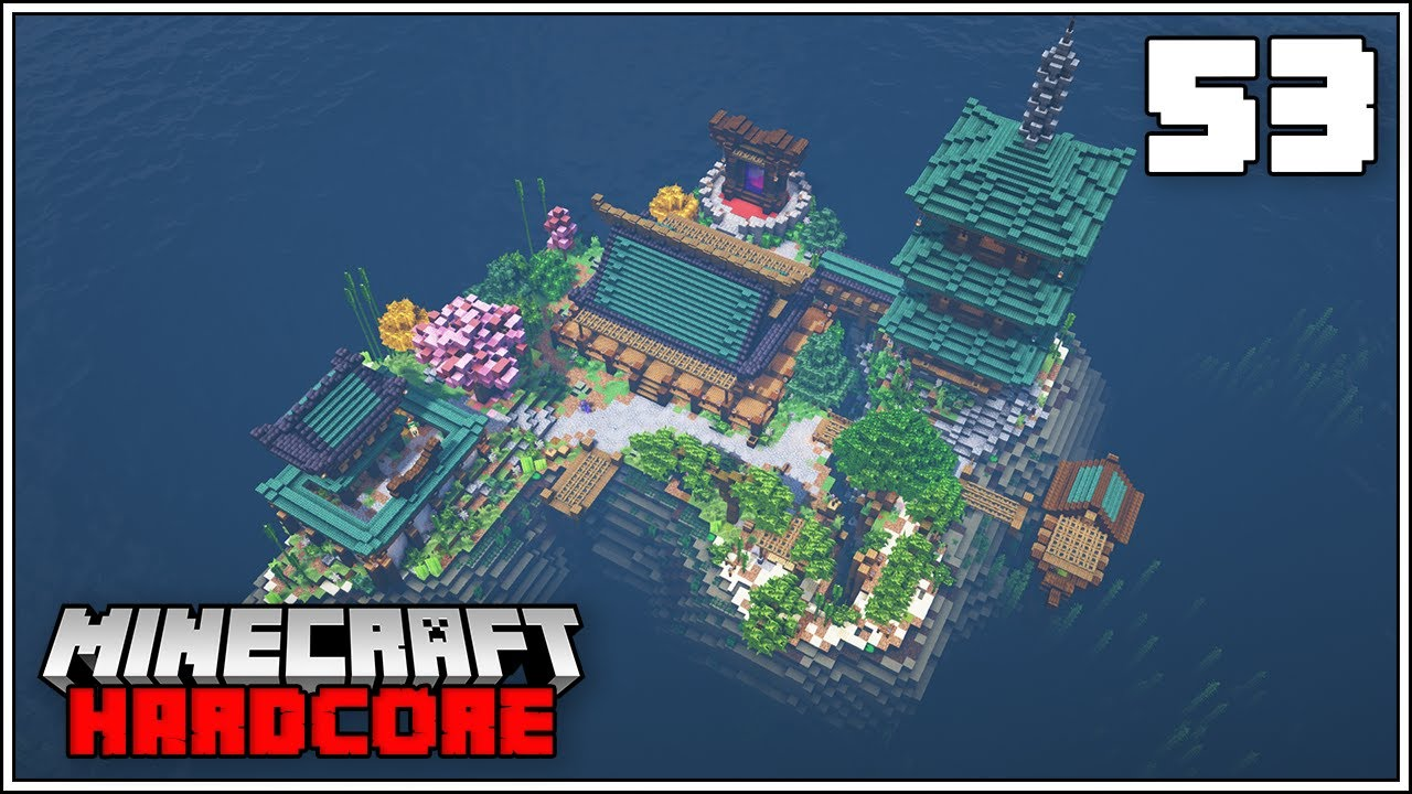 Minecraft Hardcore Let's Play - JAPANESE ISLAND TRANSFORMATION COMPLETE!!!