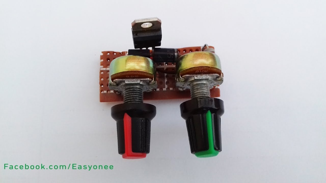 Power Supply Variable Regulated 5v13v Using Ca3140 Electronic How To Make Mini Adjust Voltage And Current Youtube