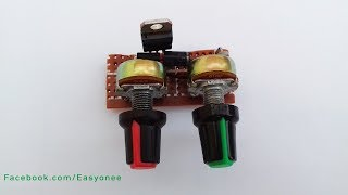 How to make mini power supply adjust voltage and current