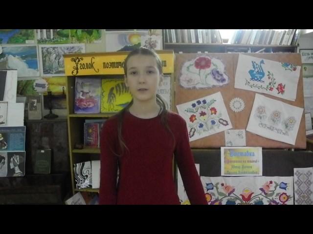 Изображение предпросмотра прочтения – ЕкатеринаГончарова читает произведение «Туча» А.С.Пушкина