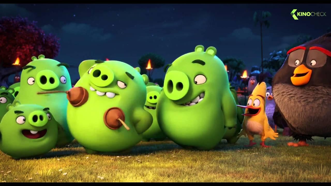 Angry Birds Trailer Deutsch